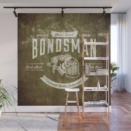 Beast Coast Bondsman (WHITE) Wall Mural