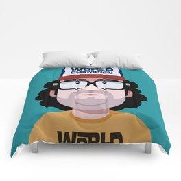 Comics of Comedy: Judah Friedlander Comforters