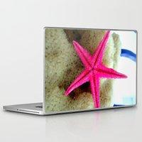 starfish Laptop & iPad Skins featuring STARFISH by habish
