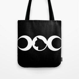 Black Cat Society Tote Bag