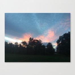Sunset Colours 01 Canvas Print