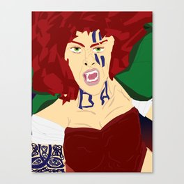 Brighid: Goddess : of Healing, Fire, water, poetry, and blacksmithing  Canvas Print