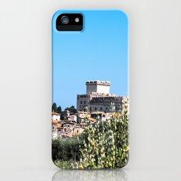 Sermoneta, a walled town iPhone Case