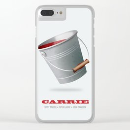 Carrie - Alternative Movie Poster Clear iPhone Case