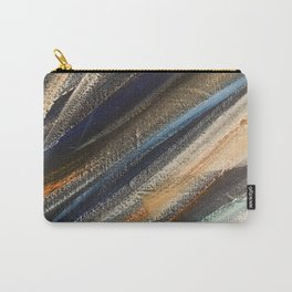 Dark Brushstrokes Painting Carry-All Pouch