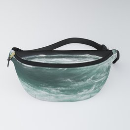 Perfect Waves | Ocean | Sea | Beach | Summer | Travel | Coast | California | Surfing | Tides Fanny Pack