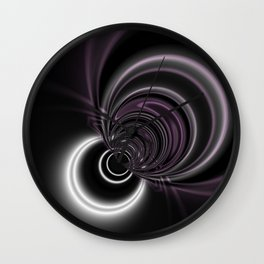 Deco Dreams 2 Abstract Wall Clock