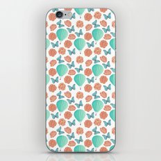 Fly Away With Me Pattern iPhone Skin