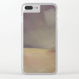 Mighty Purple Clear iPhone Case