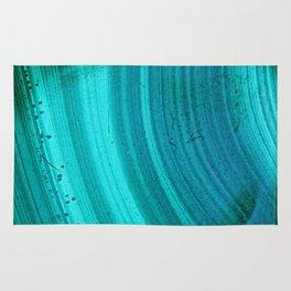 Turquoise Halos Rug