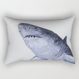 Great White Rectangular Pillow