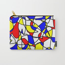 Mondrian Sneeze Carry-All Pouch