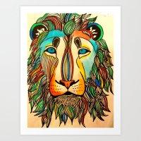 Color Me Wild Art Print