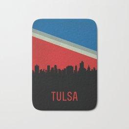 Tulsa Skyline Bath Mat