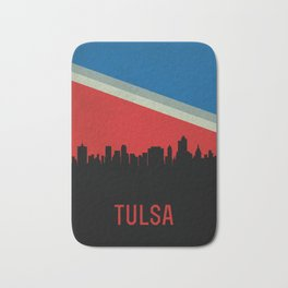 Tulsa Skyline Bath Mat