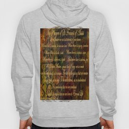 The Prayer of St Francis of Assisi Hoody