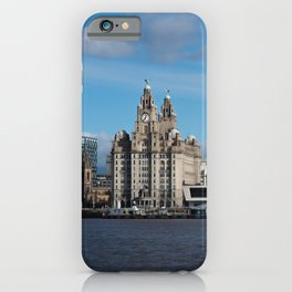 Liverpool Mersey Liver Building iPhone Case