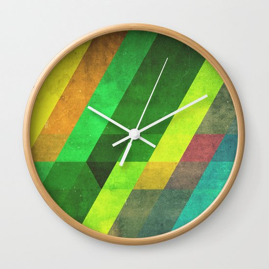 lyyn wyrk Wall Clock