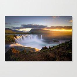 Goðafoss Canvas Print