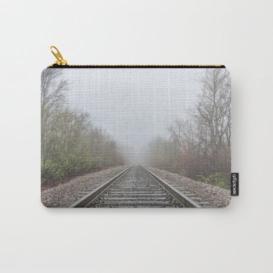 Spring time railroad tracks Carry-All Pouch