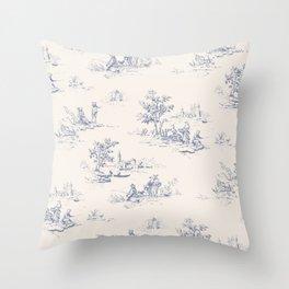 Animal Jouy Throw Pillow