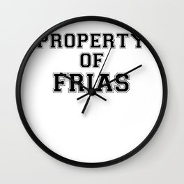 Property of FRIAS Wall Clock