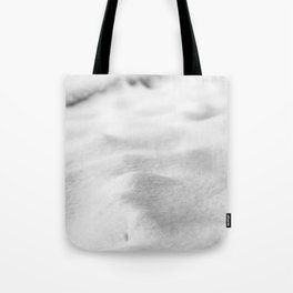 Snow Close up // Winter Landscape Powder Snowing Photography Ski Snowboarder Snowy Vibes Tote Bag