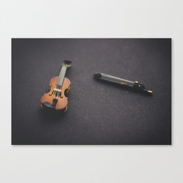 Miniature Violin  Canvas Print