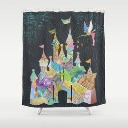 Castle fit for a princess Shower Curtain