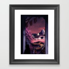 When the boats come in Framed Art Print