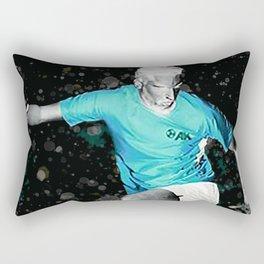 Footballer - Fine Footwork - Negative Rectangular Pillow