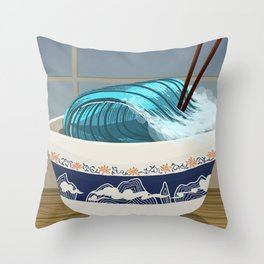 Comfort Food Throw Pillow