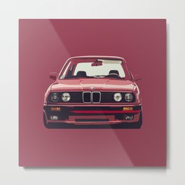 Famous german e30 Metal Print