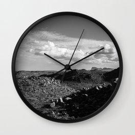Balanced Rock Overlook, Big Bend National Park Wall Clock