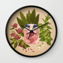 Love & Protection Wall Clock