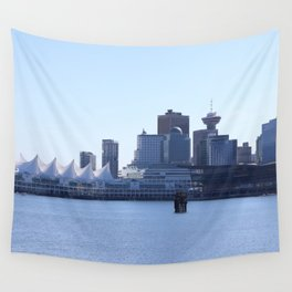 Downtown Vancouver Canada Wall Tapestry