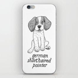 Dog Breeds: German Shorthaired Pointer iPhone Skin