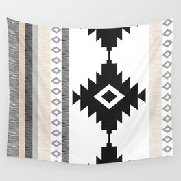 Pueblo in Tan Wall Tapestry