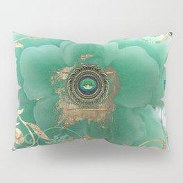 Gilded Sakura Pillow Sham