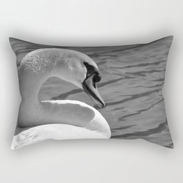 Sunning Swan by Teresa Thompson Rectangular Pillow