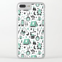 Camp Life Clear iPhone Case