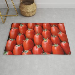 Tomatoes pattern background Rug