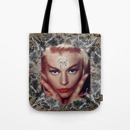 Spooky Witch - Femme Fatale - Anita Ekberg Tote Bag