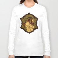 baphomet Long Sleeve T-shirts featuring Baphomet by Abigail Larson