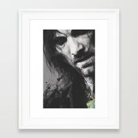 aragorn Framed Art Prints featuring Aragorn by Alba Palacio