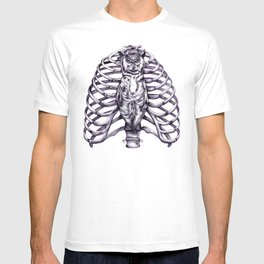 The owl is wise and proper T-shirt