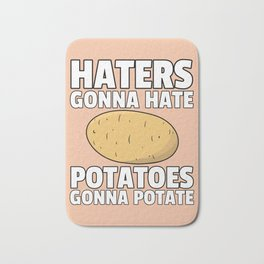 Potato Potatoes Pear French fries Bath Mat