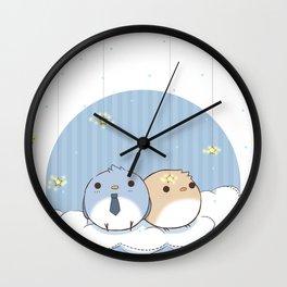 Bird!Destiel Wall Clock