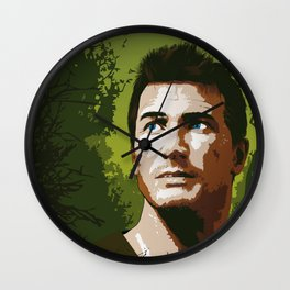 Nathan Drake, Uncharted tribute Wall Clock