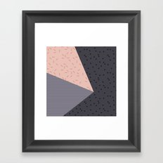 Geometry Blocks 8 Framed Art Print